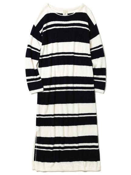 ' smoothie x bamboo ' 條紋連身裙
