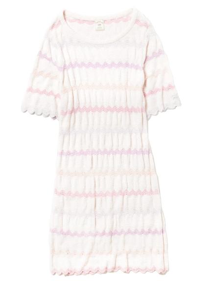 ' smoothie ' 繽紛波紋造型連身裙