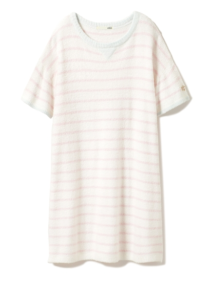 ' smoothie ' 細條紋連身裙