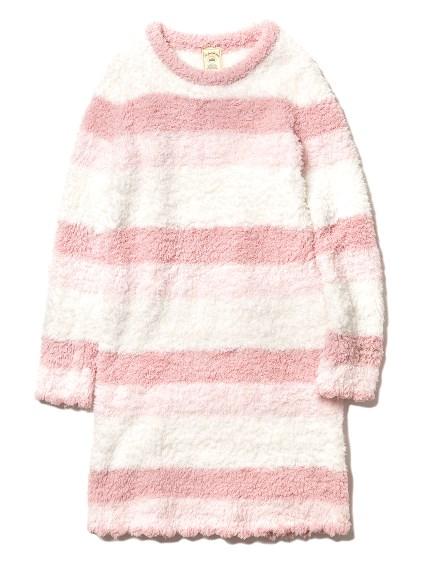 ' gelato ' 3條紋荷葉邊連身裙