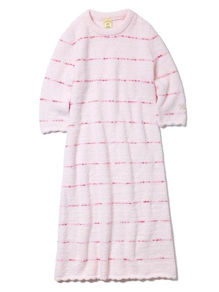 ' powder ' 條紋連身裙