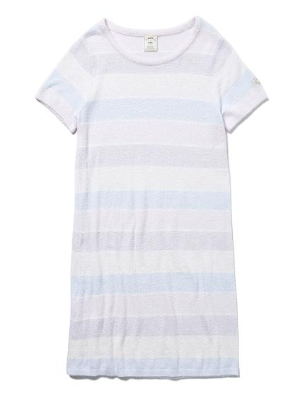 ' smoothie ' 配色條紋連身裙