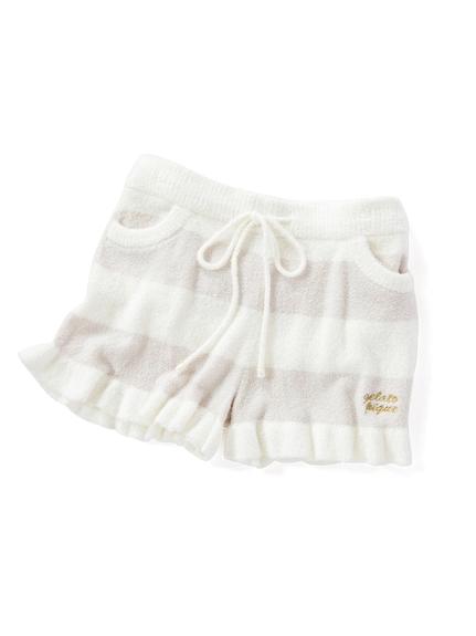 ' smoothie ' 2條紋短褲