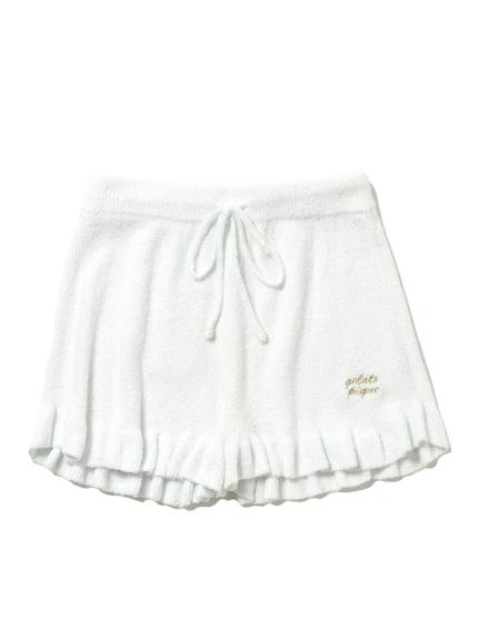 ' smoothie ' 素色荷葉短褲