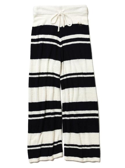 ' smoothie x bamboo ' 條紋長褲