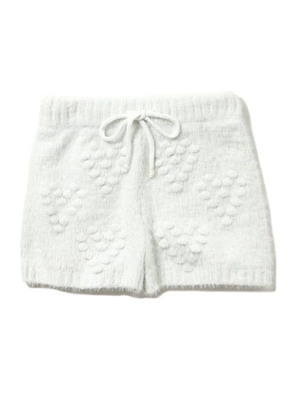 【情人節限定】 ' souffle ' 立體愛心短褲