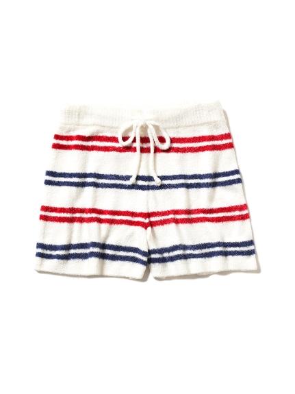 ' smoothie ' 個性條紋短褲