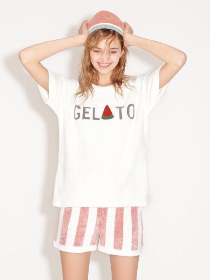 ' smoothie ' 夏日刺繡短褲