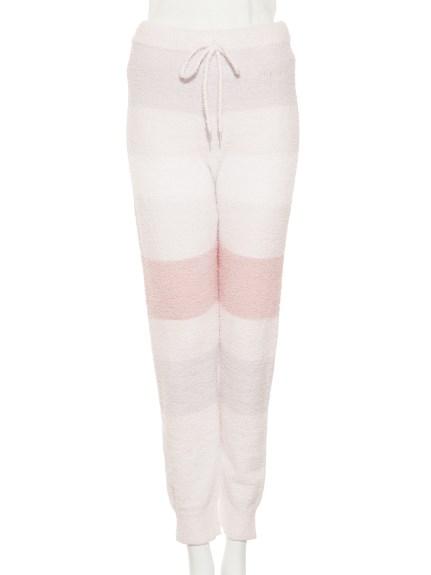 'bamboo'4色條紋長褲
