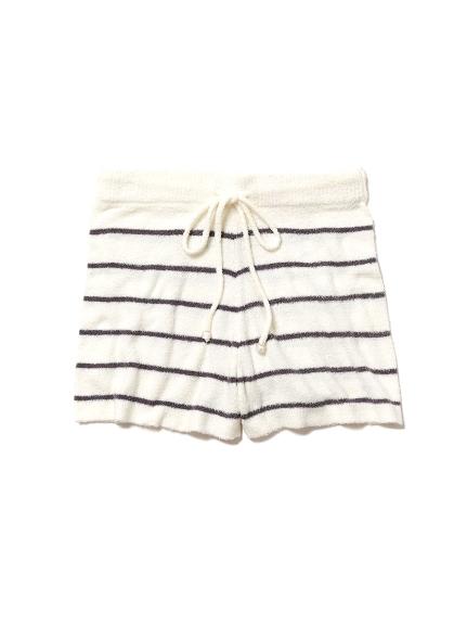 'smoothie'刺繡LOGO短褲