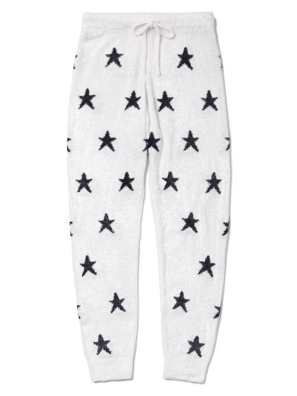 'smoothie'紐約提花星星長褲