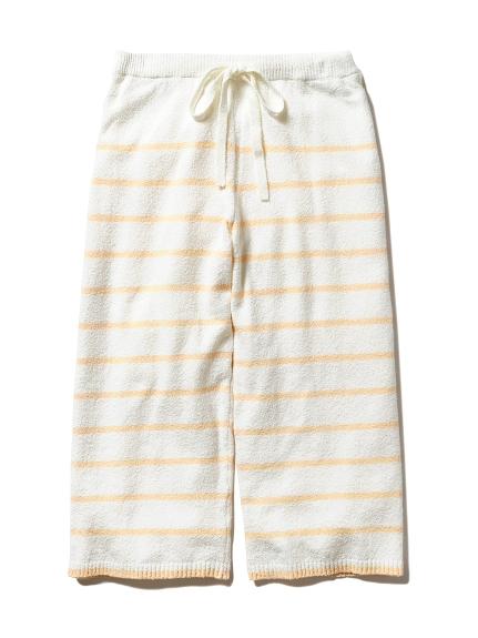 ' smoothie ' 配色橫條紋長褲