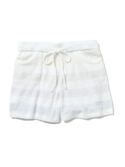 smoothie粉彩條紋短褲