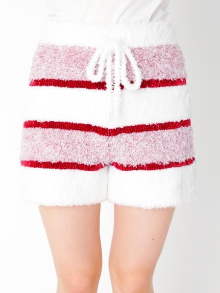 【PARIYA】蛋糕條紋短褲