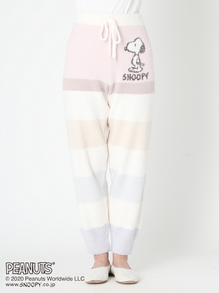【PEANUTS】SNOOPY條紋長褲