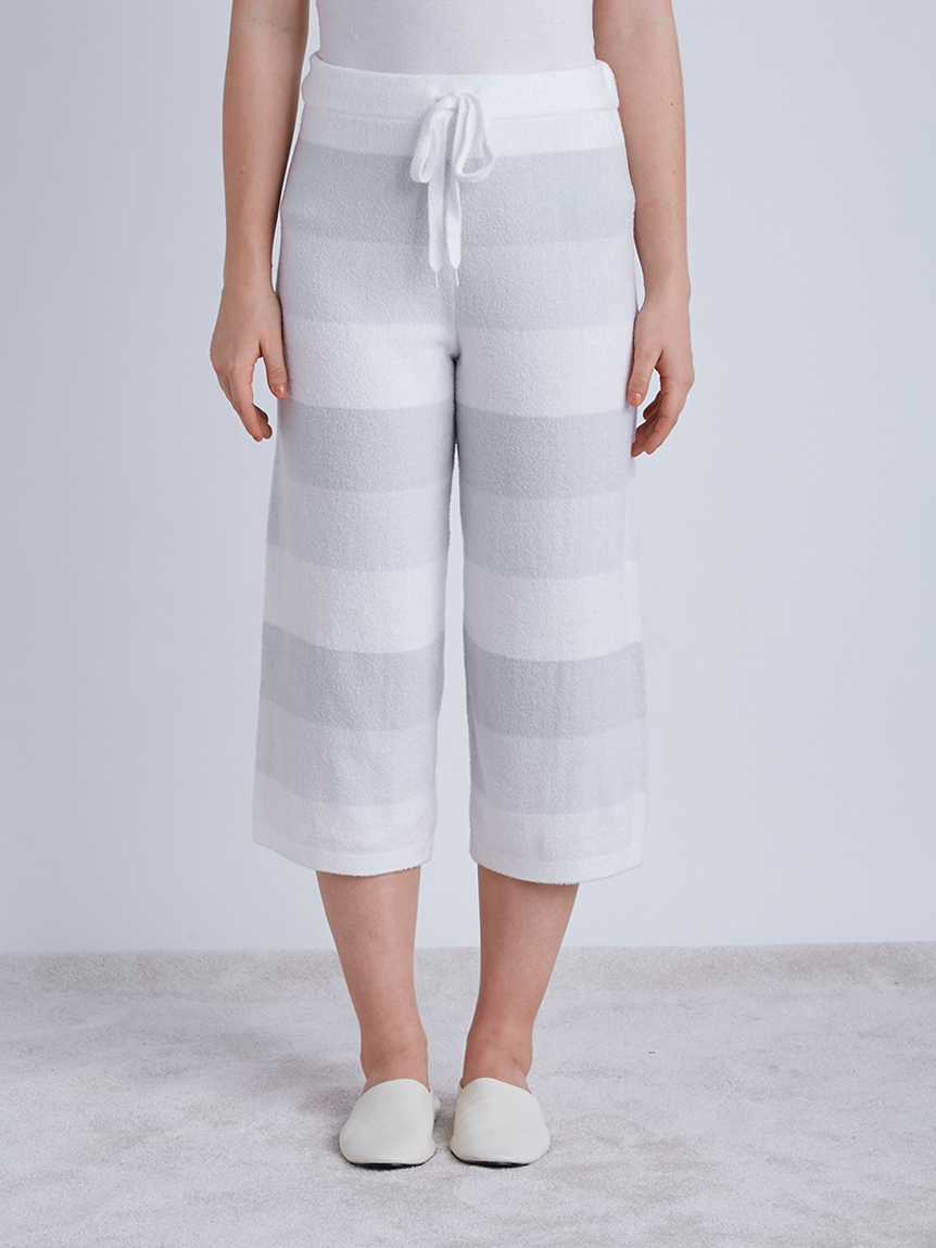 再生smoothie 三色條紋長褲