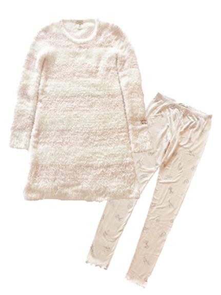 【限定SET】moco moco連身裙+印花內搭褲組合