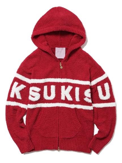 【Suki Waterhouse】LOGO刺繡連帽外套