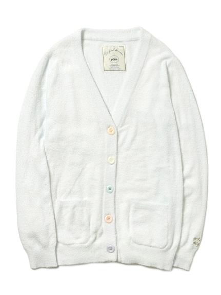 ' smoothie ' 素色多彩鈕扣開襟外套
