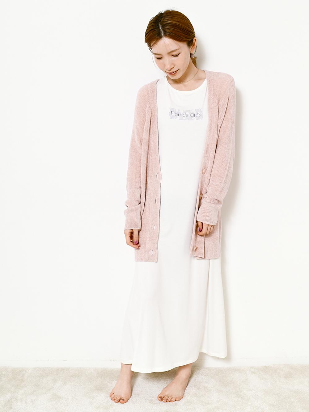 【SAKURA COLLECTION】嫘縈文字A字連身裙