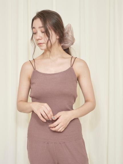 乳木果油 罩杯式細肩帶背心