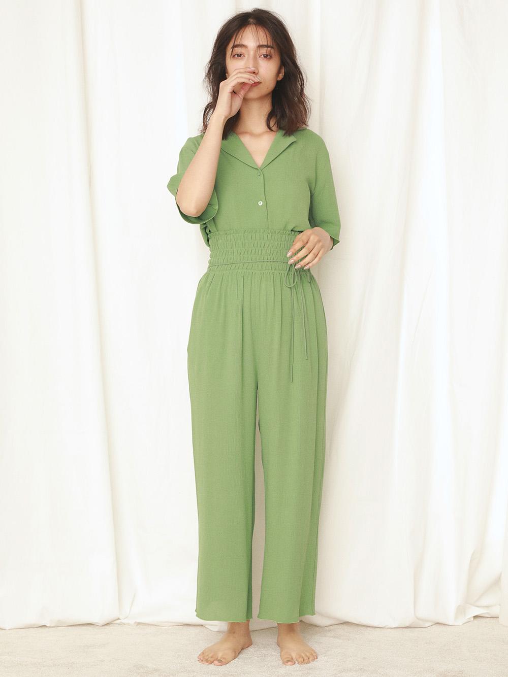 嫘縈楊柳紗襯衫