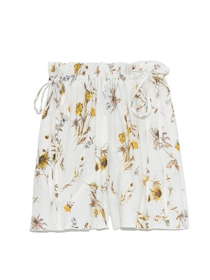 摩洛哥堅果油 嫘縈楊柳紗短褲