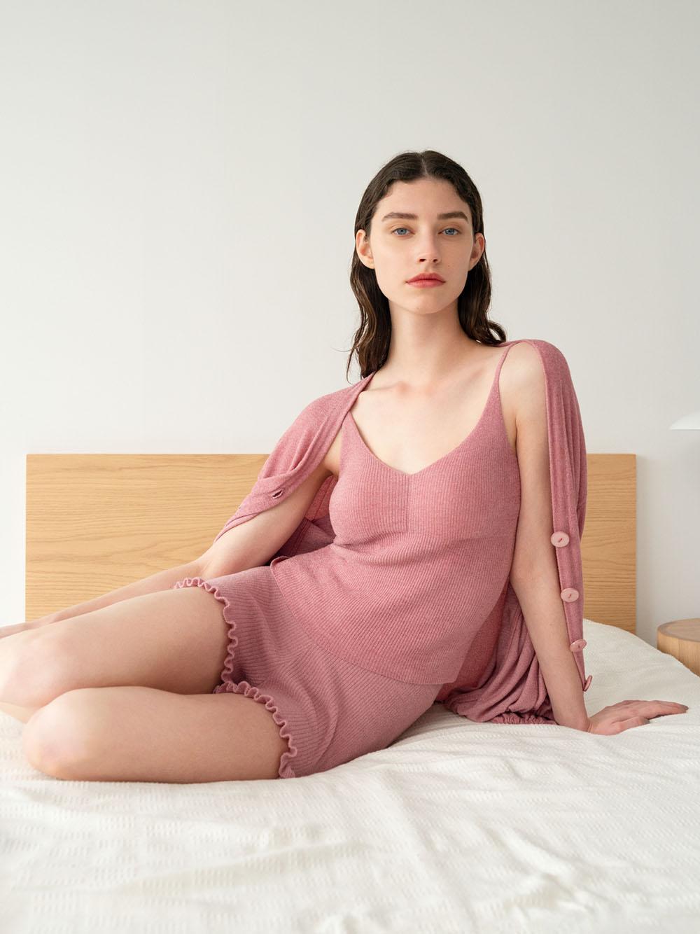 Sorbet Touch 摩洛哥堅果油 小荷葉邊短褲