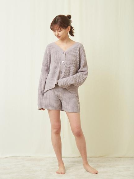 玫瑰果油 棉質刺繡針織外套
