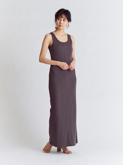 重磅羅紋連身裙