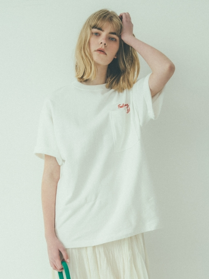 率性口袋T-shirt