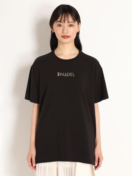 金箔文字T-Shirt