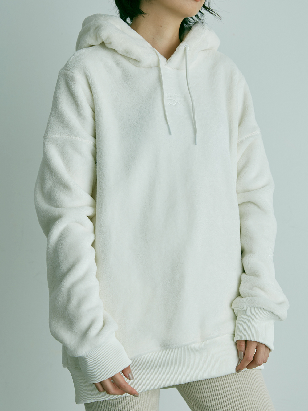 【Reebok聯名】CLASSIC SNIDEL Boyfriend Hooded Top