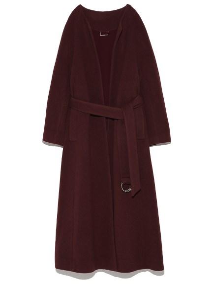 長版羊毛大衣