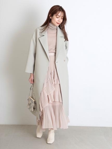 三重織長袍大衣