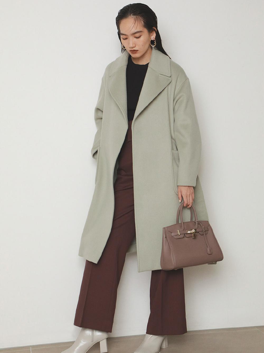 HAMILTON羊毛長版大衣