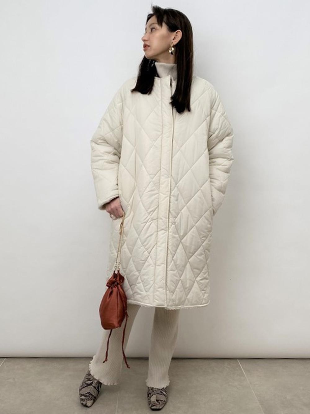雙面絎縫刷毛大衣