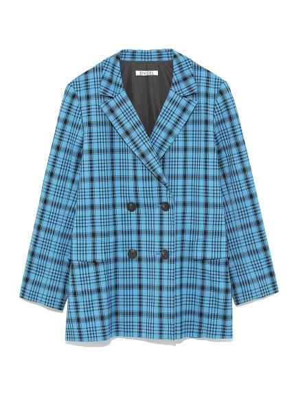 格紋西裝夾克