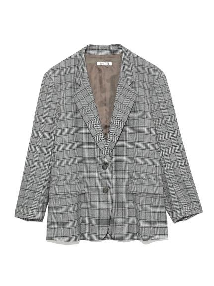 OVERSIZE羊毛西裝夾克