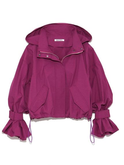 風衣造型短版外套