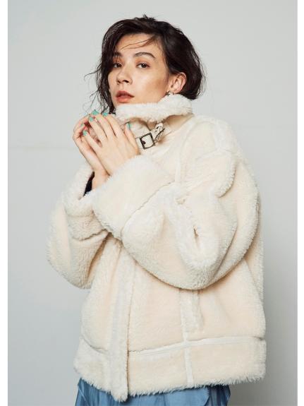 人造毛布勞森外套