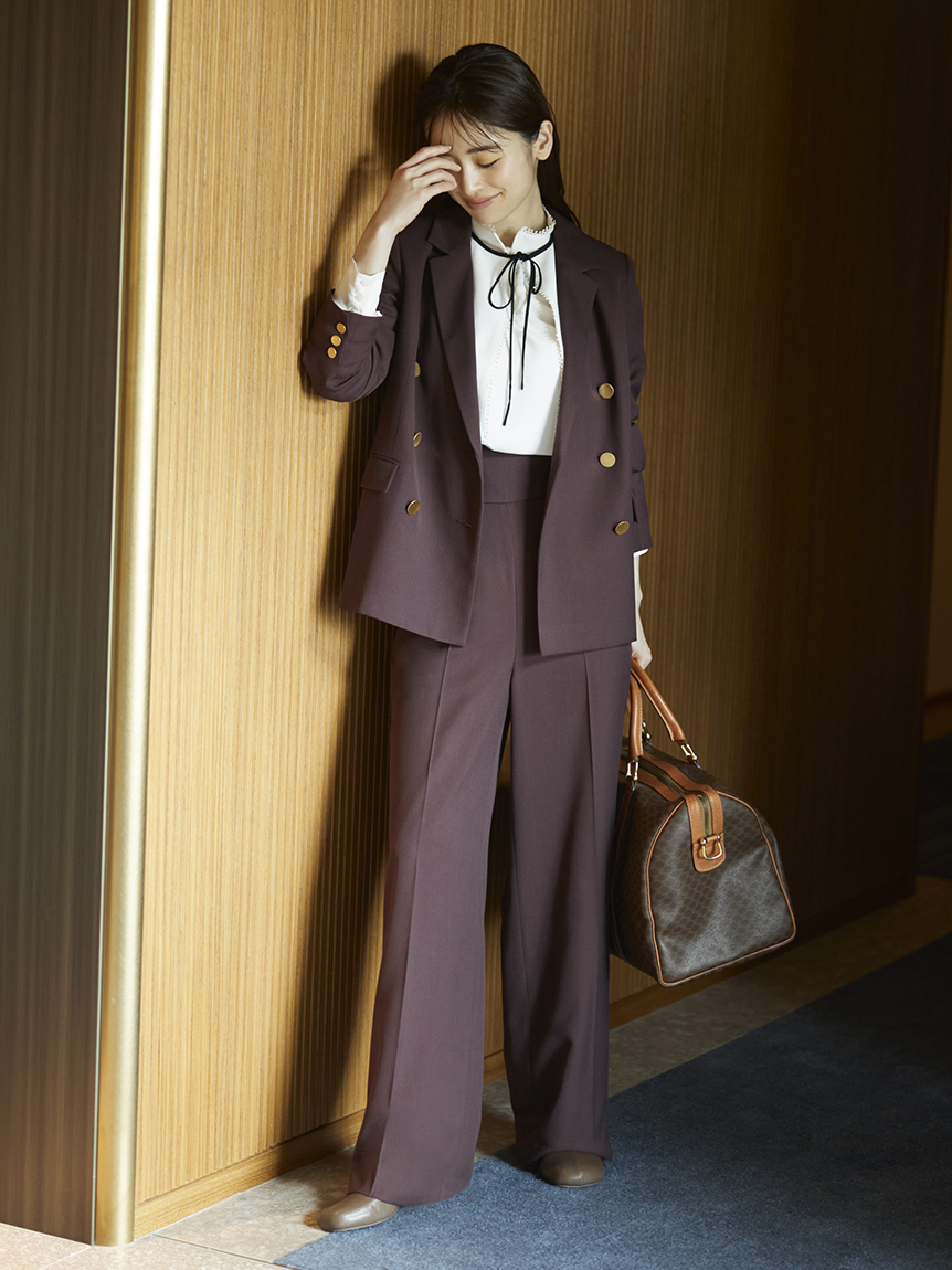 Sustainable雙排釦西裝外套