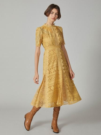 蕾絲長洋裝