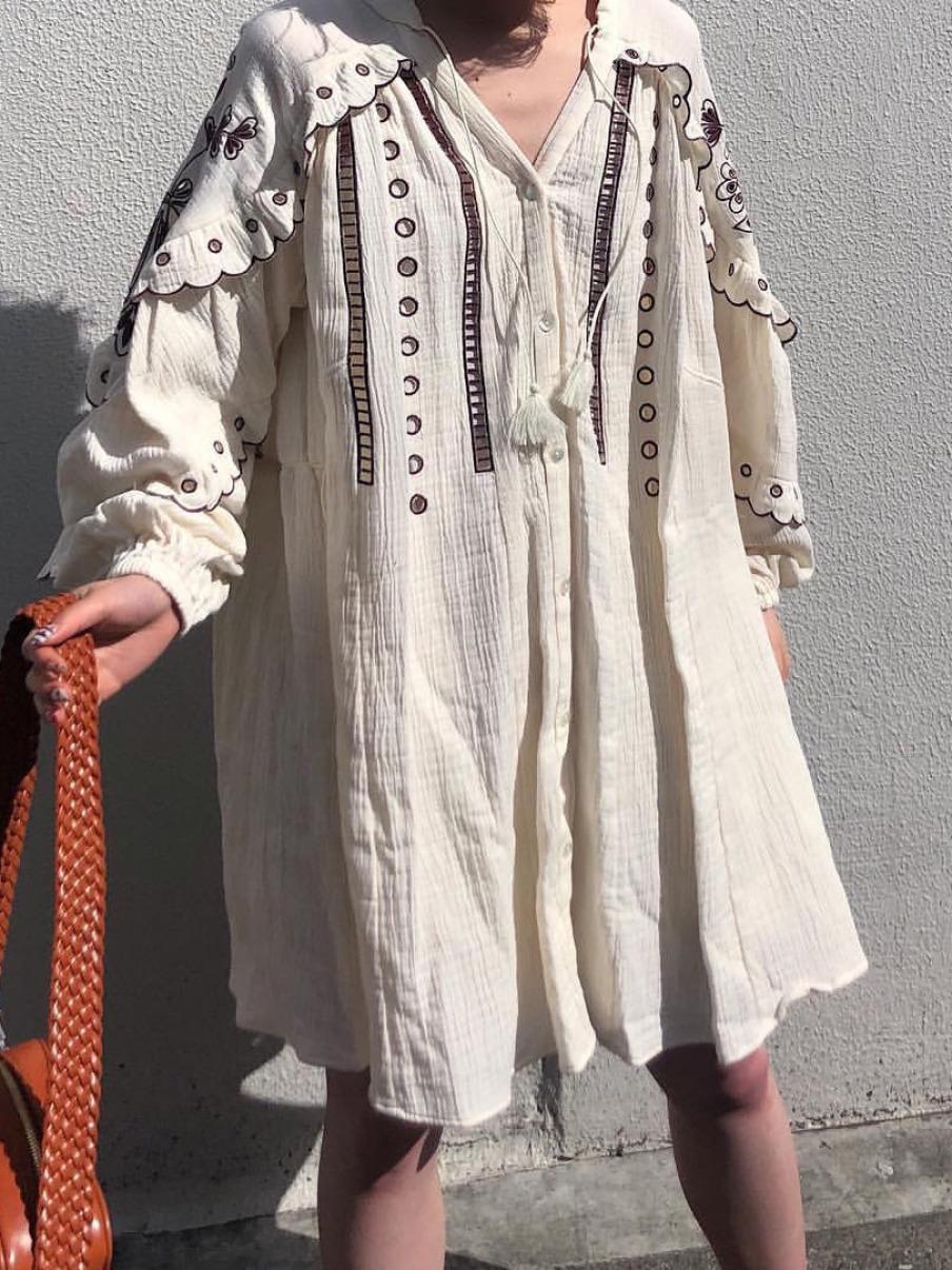 波西米亞長袍洋裝