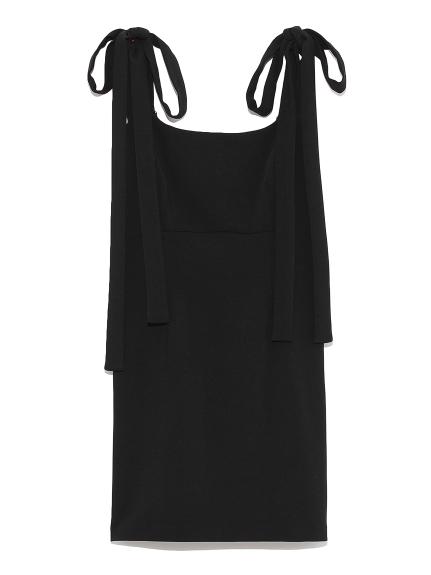 綁帶造型洋裝