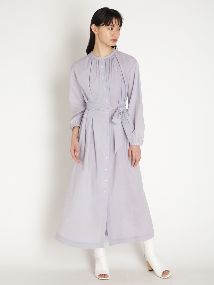 ORGANICS綁帶式圓領洋裝