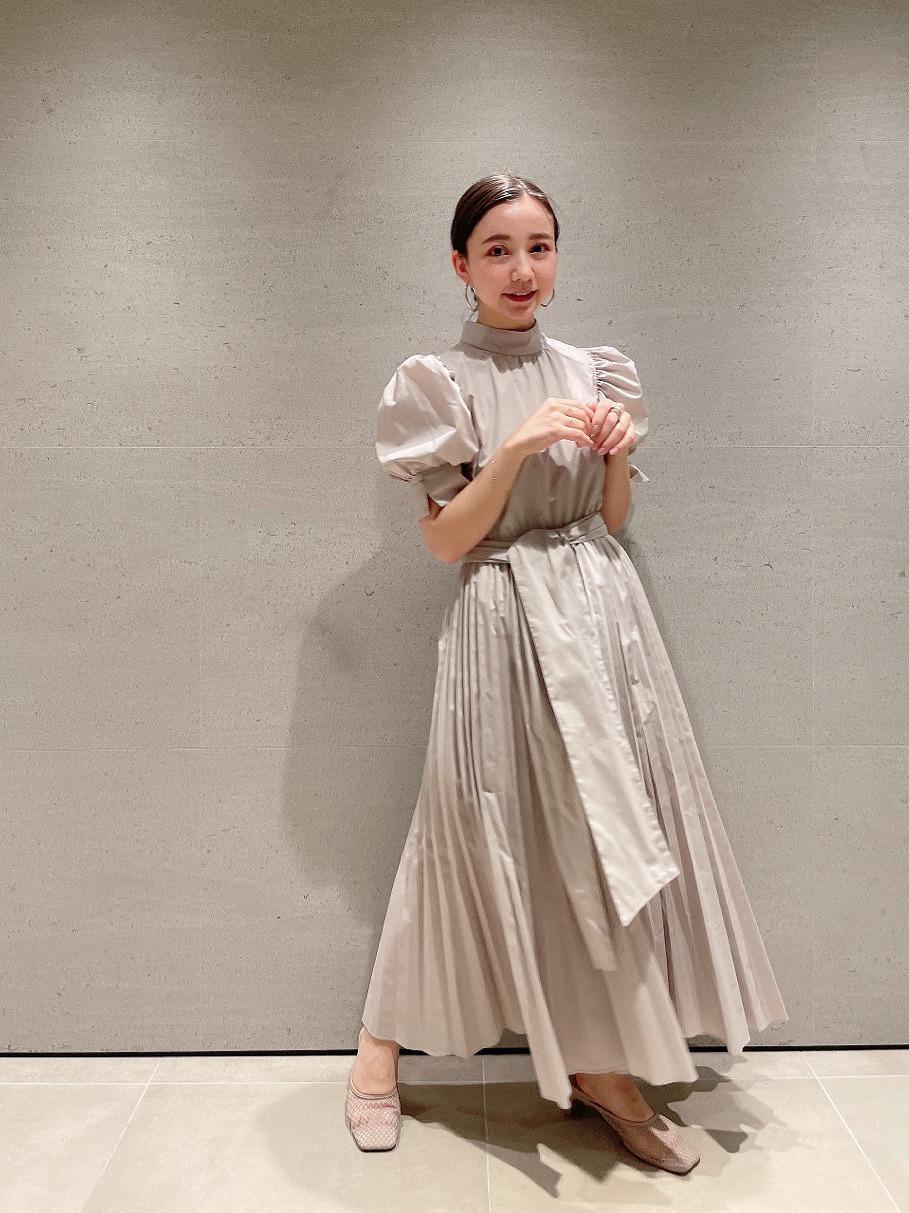 Sustaina蝴蝶結襯衫連身裙