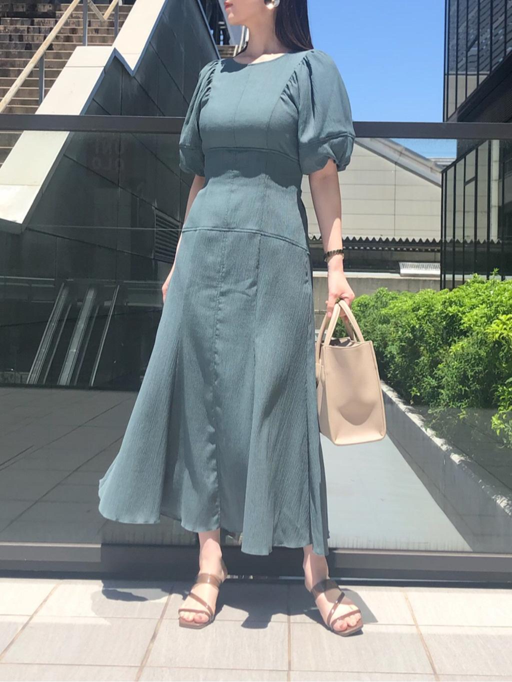顯瘦腰身魚尾連身裙