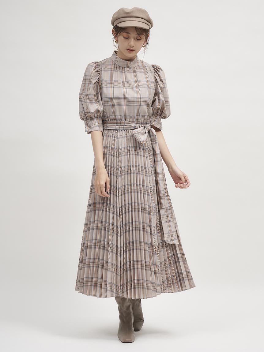 Sustainable蝴蝶結襯衫連身裙