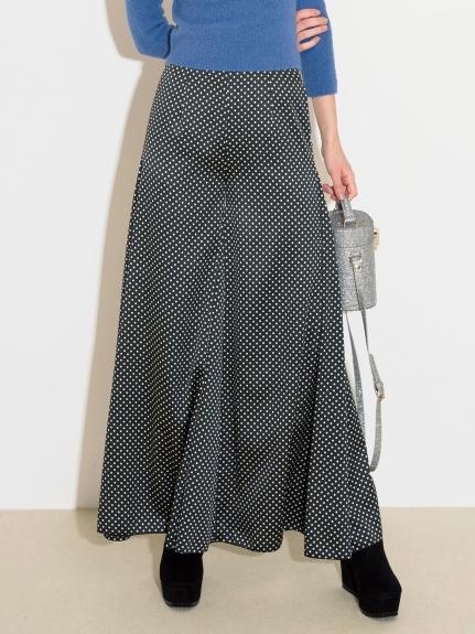 休閒造型寬褲裙